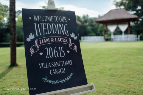 villa sanctuary canggu bali wedding