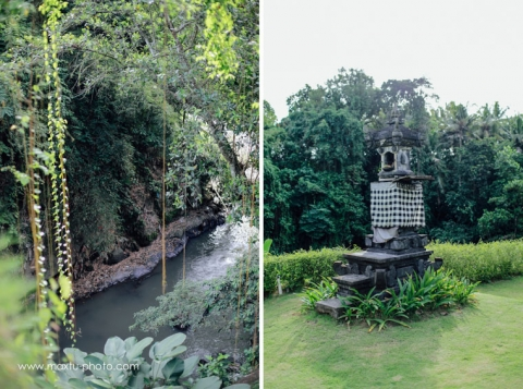 amazing location for wedding at villa sanctuary bali