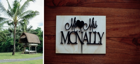 bali photography for mr & Mrs Mc nally