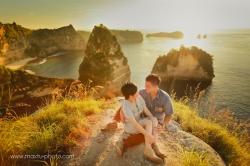bali pre wedding destination at nusa penida island